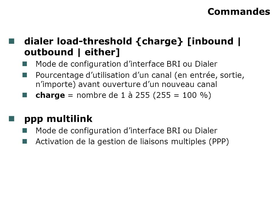 dialer load-threshold {charge} [inbound | outbound | either]